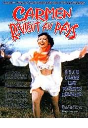L'affiche du film Carmen revient au pays