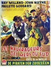 Affiche du film Les Naufrageurs des Mers du Sud