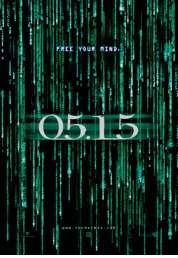 L'affiche du film Matrix (la matrice)