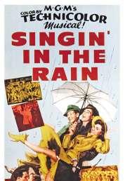 L'affiche du film Chantons sous la pluie