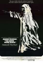 L'affiche du film La mariée était en noir