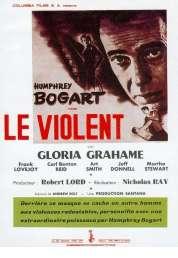 Affiche du film Le violent