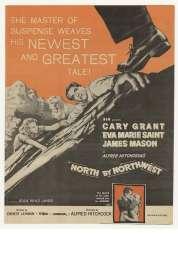 Affiche du film La mort aux trousses
