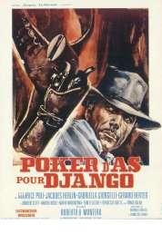 Affiche du film Poker d'as Pour Django