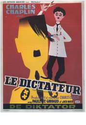 L'affiche du film Le dictateur