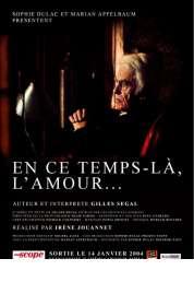 Affiche du film En ce temps-là, l'amour...
