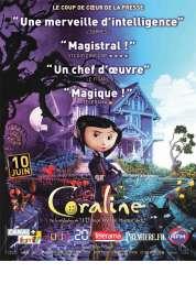 L'affiche du film Coraline