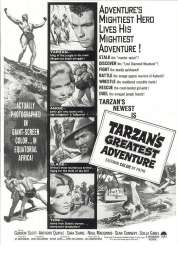 Affiche du film La Plus Grande Aventure de Tarzan