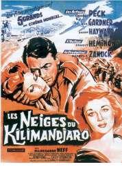 Affiche du film Les neiges du Kilimandjaro