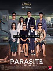 L'affiche du film Parasite