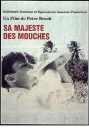 Affiche du film Sa majesté des mouches