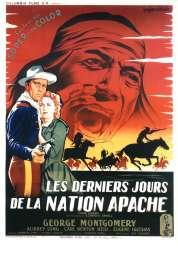 Affiche du film Les derniers jours de la nation Apache