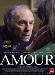 L'affiche du film Amour