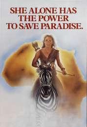 Affiche du film Sheena, reine de la jungle