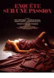 Affiche du film Enquête sur une passion