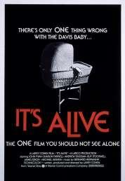 Affiche du film Le monstre est vivant