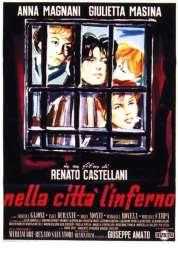 Affiche du film L'enfer dans la ville
