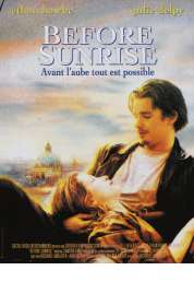 L'affiche du film Before sunrise
