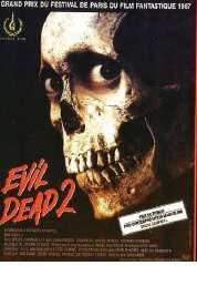 L'affiche du film Evil dead 2