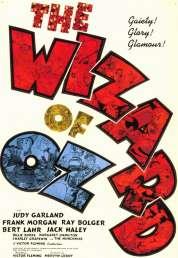 L'affiche du film Le magicien d'Oz