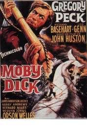 Affiche du film Moby Dick