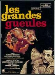 Affiche du film Les grandes gueules