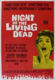 L'affiche du film La nuit des morts vivants