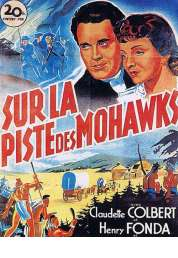 Affiche du film Sur la piste des Mohawks