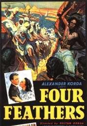 Affiche du film Les quatre plumes blanches