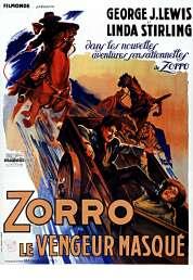 Affiche du film Zorro le Vengeur Masque