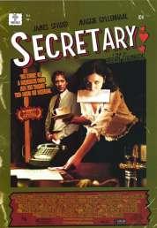 Affiche du film La secrétaire