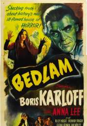 Affiche du film Bedlam