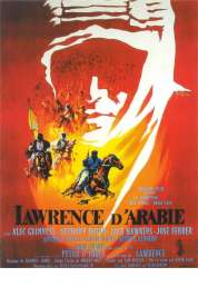 L'affiche du film Lawrence d'Arabie