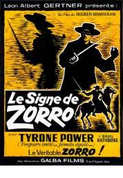 L'affiche du film Le Signe de Zorro