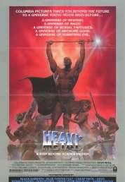 Affiche du film Métal hurlant