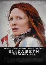 Affiche du film Elizabeth : l'âge d'or