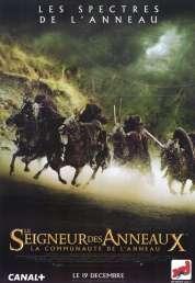 Affiche du film Le Seigneur des Anneaux  La Communauté de l'Anneau