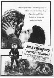 L'affiche du film Johnny Guitar