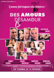L'affiche du film Des amours, désamour