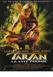 Affiche du film Tarzan (La cité perdue)