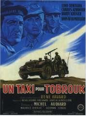 L'affiche du film Un taxi pour Tobrouk
