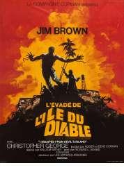 Affiche du film L'evade de l'ile Au Diable