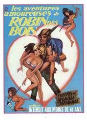 Affiche du film Les aventures amoureuses de Robin des Bois