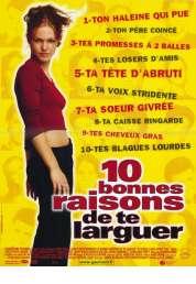 Affiche du film 10 bonnes raisons de te larguer