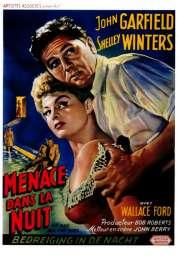 L'affiche du film Menaces dans la nuit