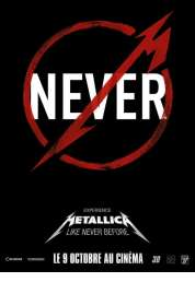 Affiche du film Metallica Through the Never