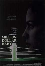 L'affiche du film Million dollar baby