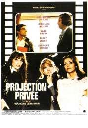 Affiche du film Projection Privee