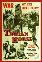 Affiche du film La guerre de Troie