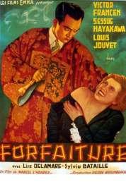 Affiche du film Forfaiture